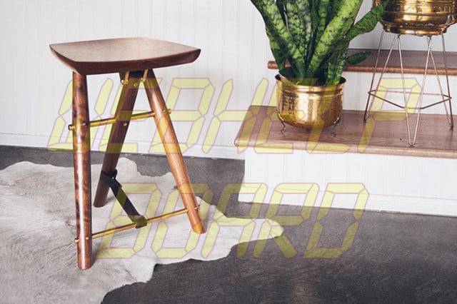 Toma asiento: The Langhorne Stool
