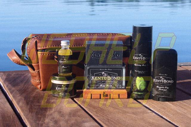 hojeando el cuidado manual de la barba de cerveza de abeto y las botas negras de tinta groom organic with kent bond