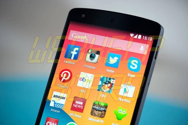 nexus 5 smartphone