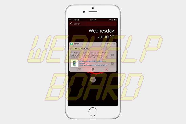 best ios 10 widgets copiados