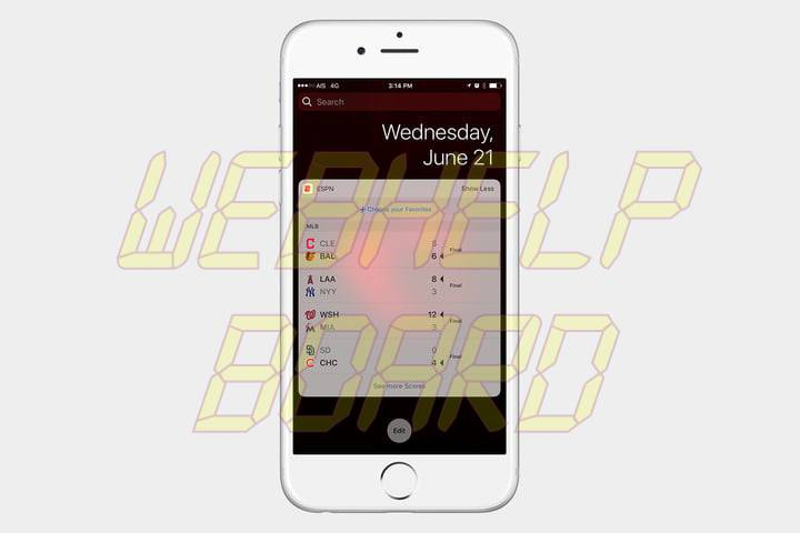 best ios 10 widgets espn