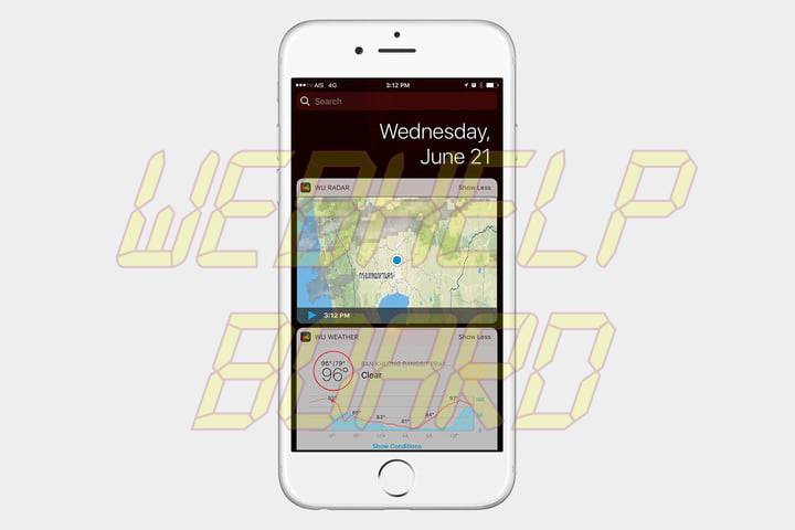 best ios 10 widgets weather underground