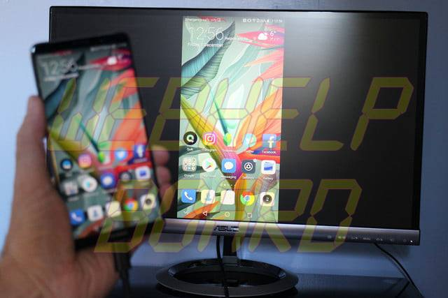 Huawei Mate 10 Pro Desktop mode