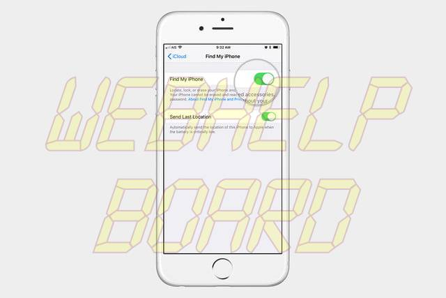 how to turn off find my iphone 4