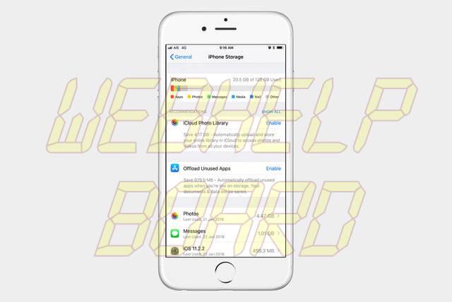 cómo borrar aplicaciones en un iPhone 1