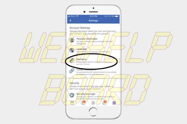 how to send money on facebook fbmoneypin1
