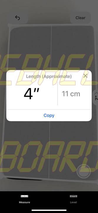 cómo usar la medida app en ios 12 5