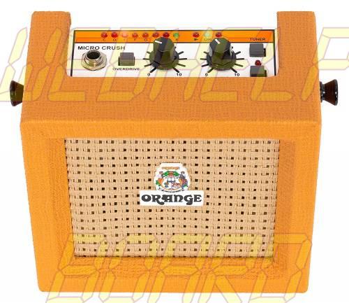Amplificadores Naranja Micro Crush PiX 3 Watt 9-Volt Mini Amp