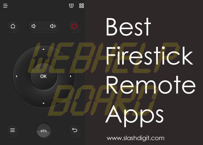 best firestick remote apps