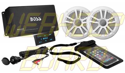 Boss ASK902B.6 4-Ch. Marine Bluetooth Amplifier