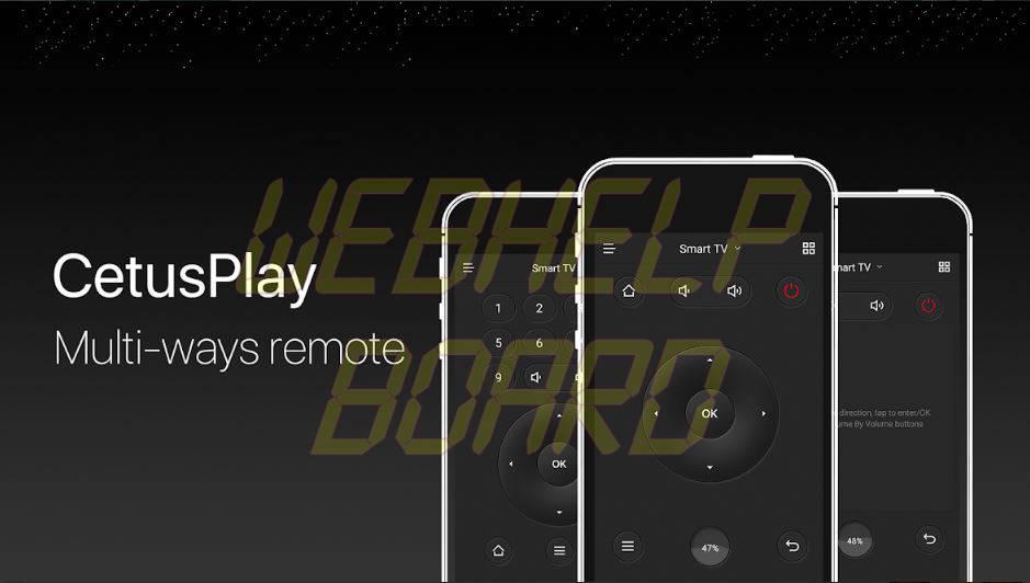 CetusPlay Remote