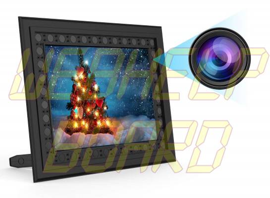 Conbrov T10 Photo Frame Hidden Spy Camera