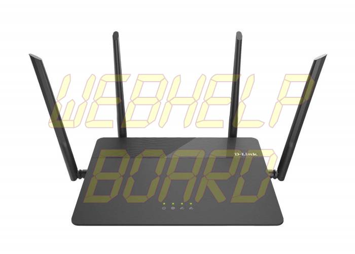 D-Link AC1900 Wireless WiFi Router - Front