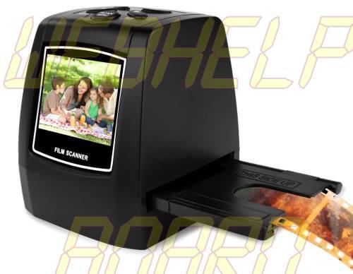 Escáner de diapositivas Pyle 22MP, Escáner digital todo en uno, Convertidor de película a digital