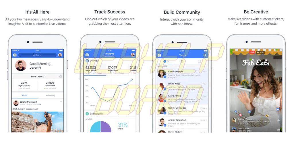 Facebook New Creator App Features