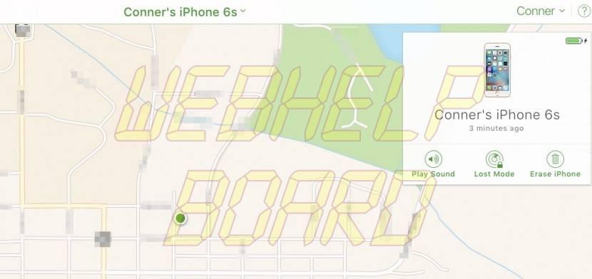 Find My iPhone-7