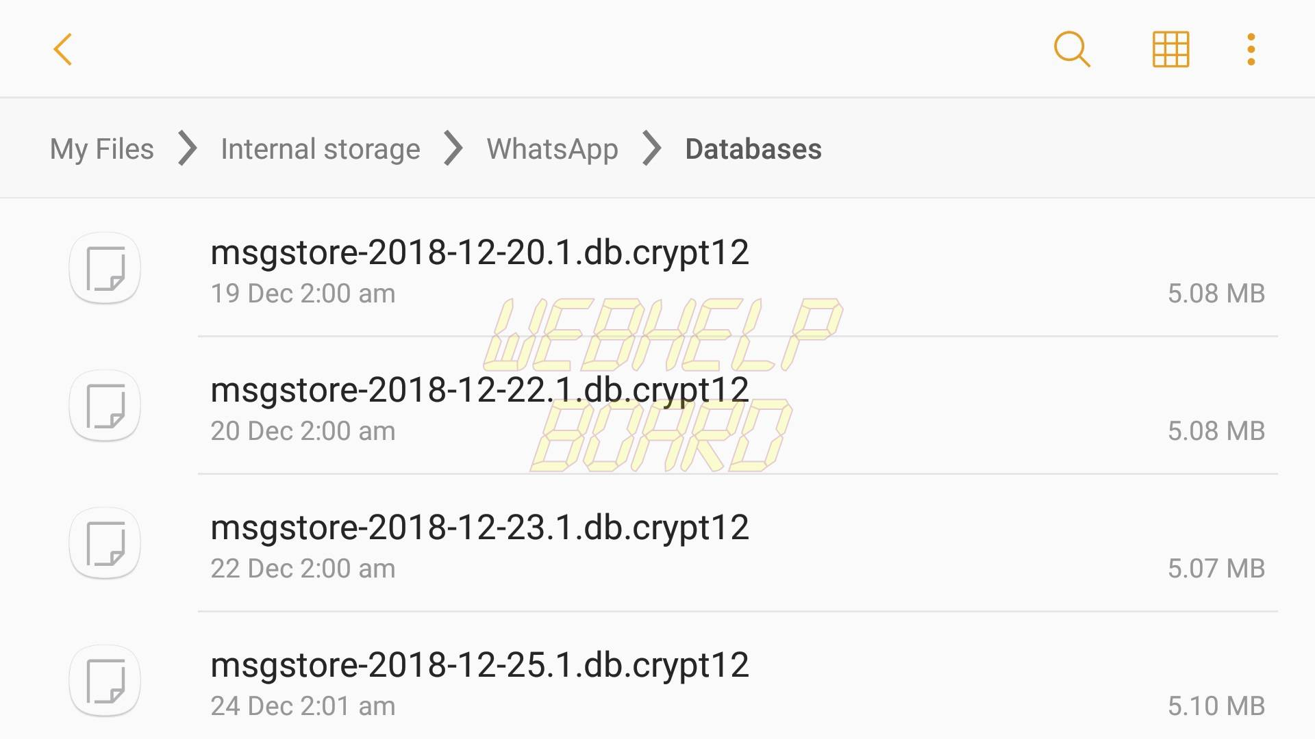 how to recover deleted messages in whatsapp from local backup