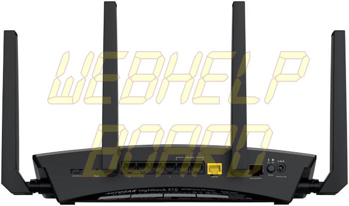 NETGEAR Nighthawk X10 - Back