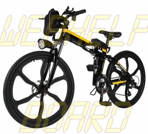 Oanon Electric Bicycle 6-Speed E-Bike