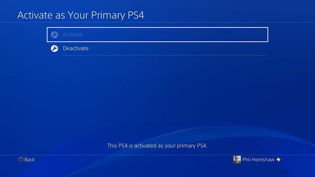 how to factory reset a ps4 playstation 4 disactivate
