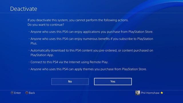 cómo restablecer de fábrica una pantalla de desactivación de la playstation 4 ps4