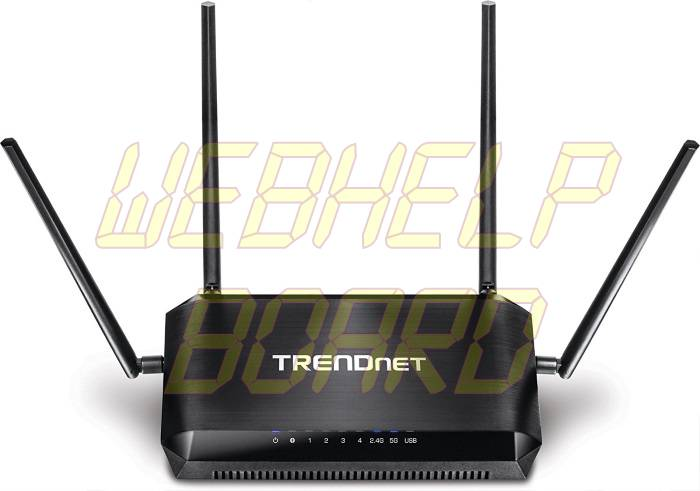 TRENDnet AC2600 MU-MIMO Wireless Gigabit Router - Frontal