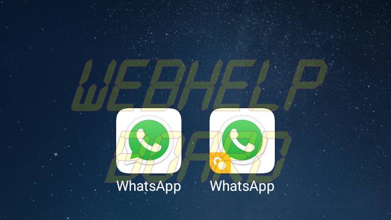 two whatsapp WhatsApp