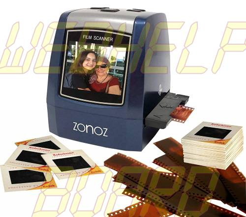 ZONOZ FS-3 22MP All-In-1 Film & Slide Converter Scanner