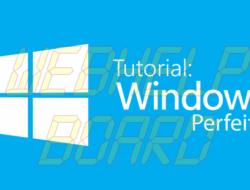 Tutorial Perfecto de Windows: Su sistema es limpio, rápido, actualizado y seguro[Parte 3].