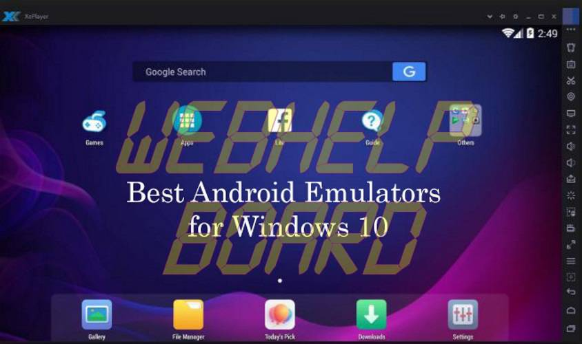 best android emulators for windows 10