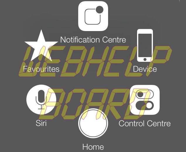 Cómo añadir el botón Inicio de pantalla táctil en iPhone, iPad