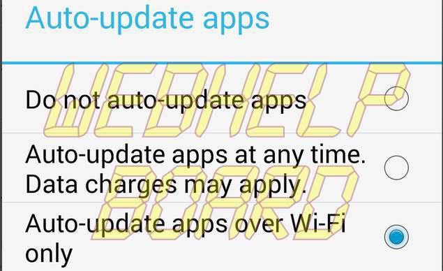 Cómo desactivar las actualizaciones automáticas de aplicaciones en Android