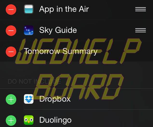 Cómo habilitar extensiones en iOS 8
