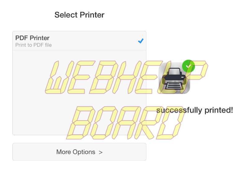 Cómo imprimir en PDF en un iPhone, iPad o iPod touch