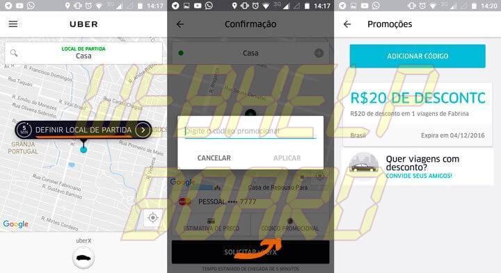 codigo promocional uber 720x393 - Tutorial: como ganhar viagens de graça no Uber