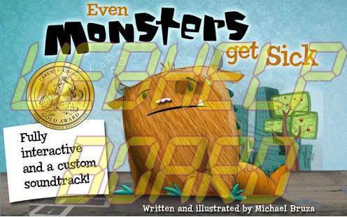 Even Monsters Get Sick app