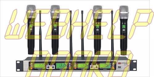 GTD Audio B-33 Sistema de micrófono inalámbrico UHF