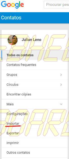 importar contatos gmail - Tutorial: como importar e exportar contatos do Gmail e Outlook
