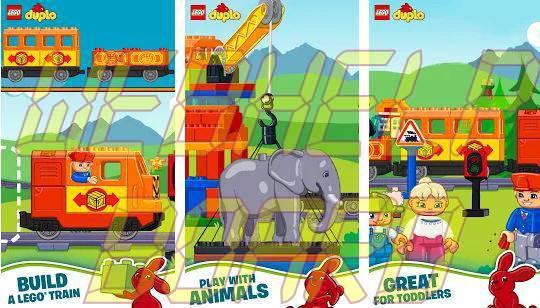 Lego Duplo Trains app