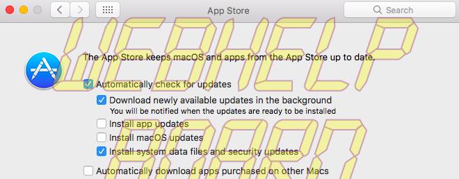 macos sierra auto update sc macOS Sierra