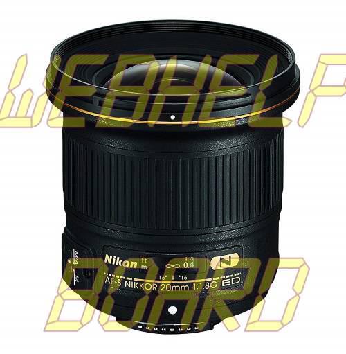 Nikon AF-S NIKKOR 20mm f/1.8