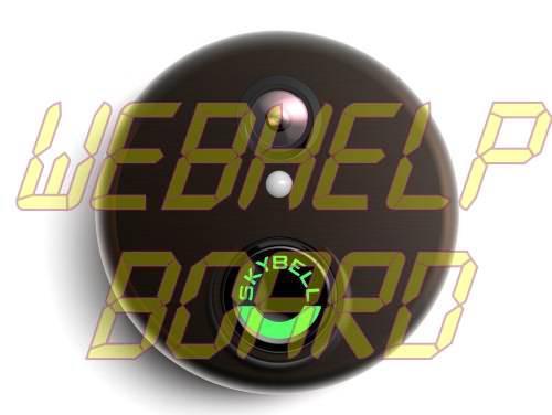 SkyBell HD Bronze WiFi Video Doorbell