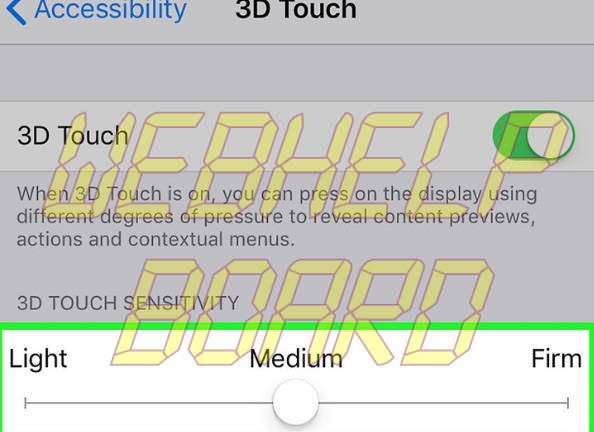 Touchscreen-Issues-adjust-3D-sensitivity-iPhone-X
