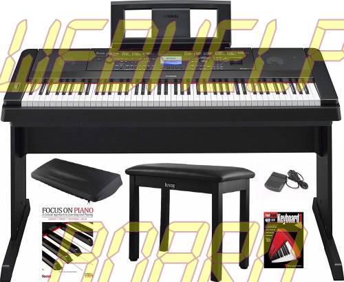 Yamaha DGX-660 88 Key Grand Digital Piano with Knox Piano Bench