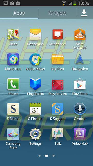 Galaxy SIII 4.1.1 Jelly Bean A - Galaxy SIII: lista de leaks da atualização 4.1.2 do Android (Jelly Bean)