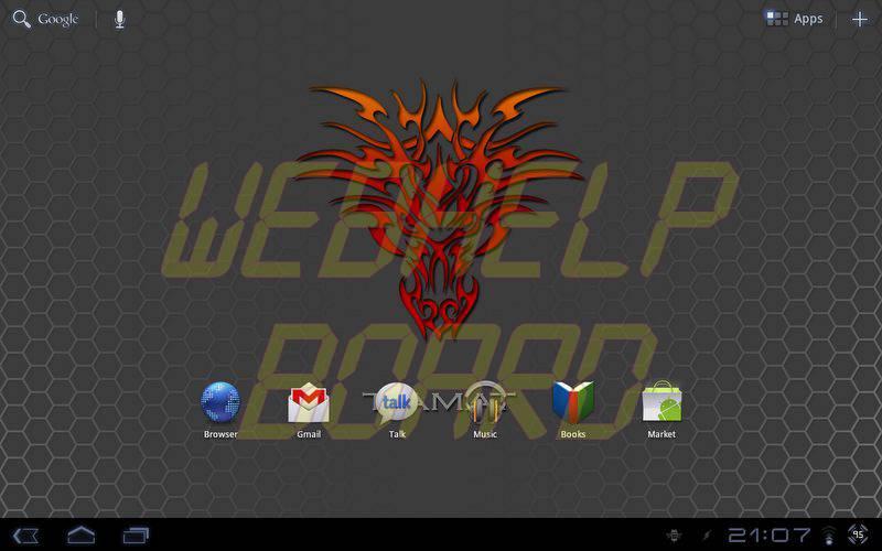device 2011 09 08 210722 - Motorola XOOM: nova atualização da ROM Tiamat 2.2 (Android Honeycomb 3.2.2)
