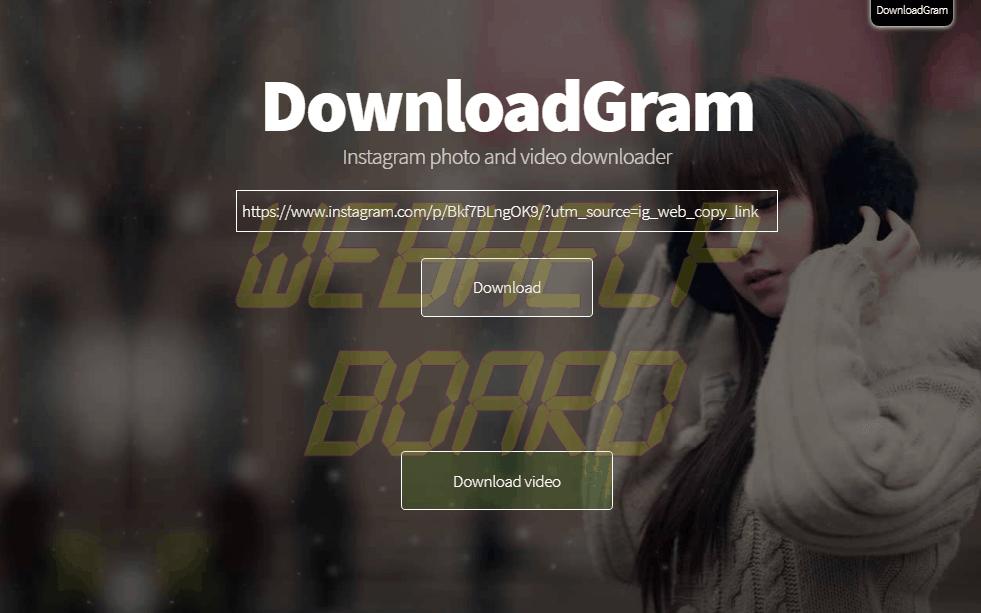 download gram - Tutorial: como baixar os vídeos e Stories do Instagram