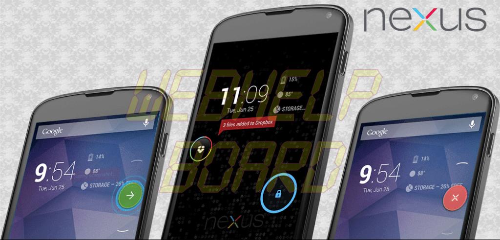 ParanoidAndroid o Nexus theme - ROM ParanoidAndroid AOSPA 3.9+ baseada no Android 4.3 para o LG Nexus 4 (Mako)