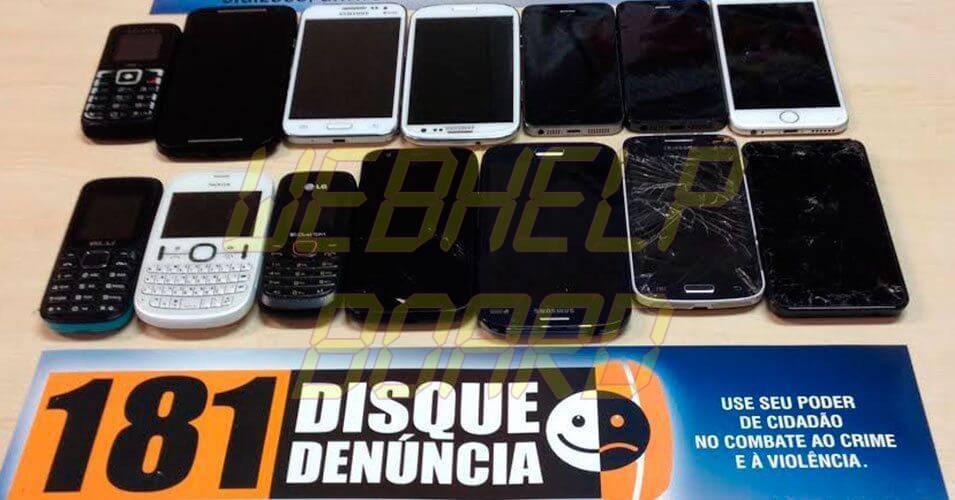 destaque 348360 celulares - Celular roubado: saiba como bloquear com CPF, IMEI ou Número da Linha