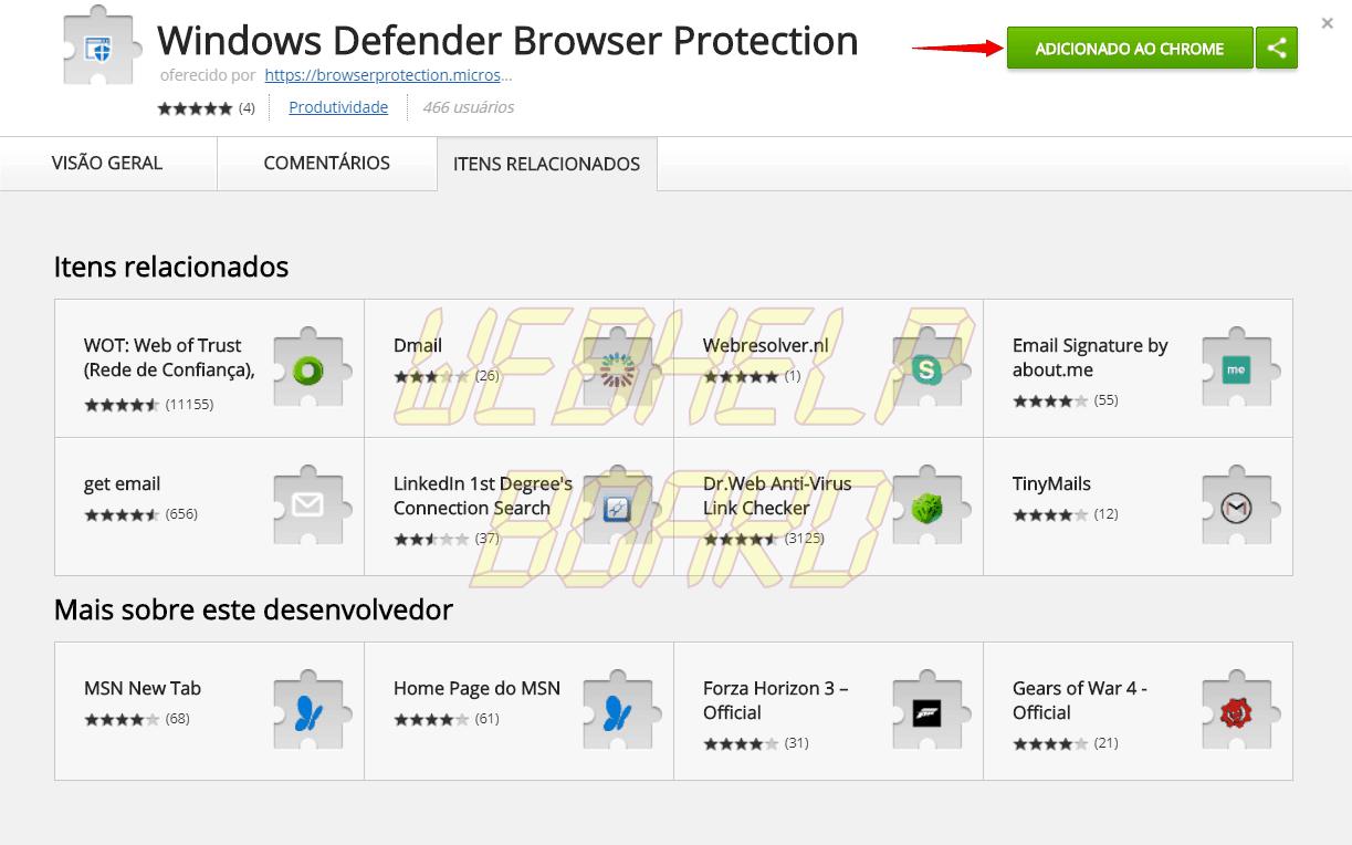 screenshot 20180419 170113 e1524168198214 - Tutorial: proteja-se de malwares com a extensão do Windows Defender para Google Chrome